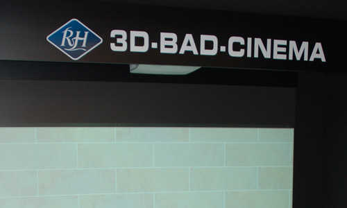 Unser neues 3D Bad Cinema